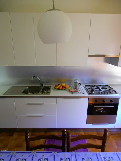 cucina frontale