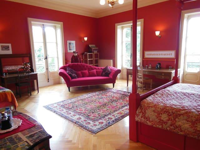 La Suite au château de Bézyl - Sixt-sur-Aff - ที่พักพร้อมอาหารเช้า