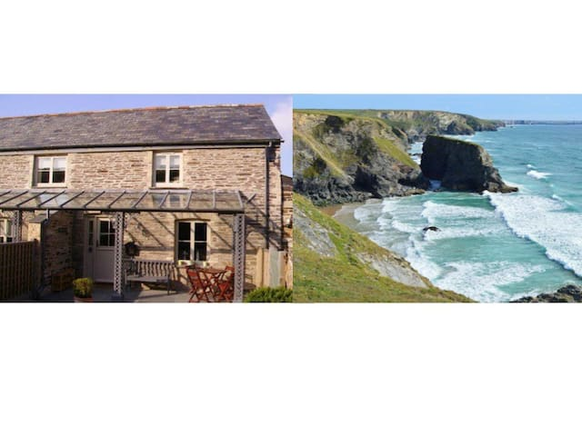 Charming Cornish barn near Padstow - Saint Merryn - House