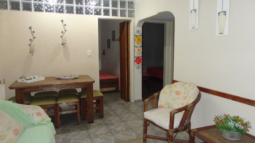 Apartamento Aconchegante Guarujá Pitangueiras
