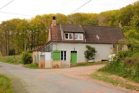 Agreable petite ferme authentique, - Saint-Prix - Hus