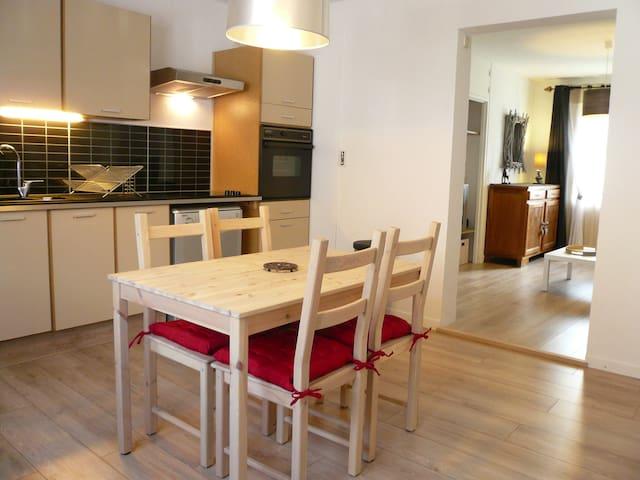 Joli T2 au calme, 50 m2, 4/5 pers. - Le Monêtier-les-Bains - Apartament