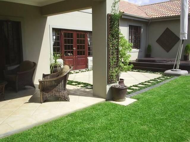 Garden cottage in upmarket secure estate