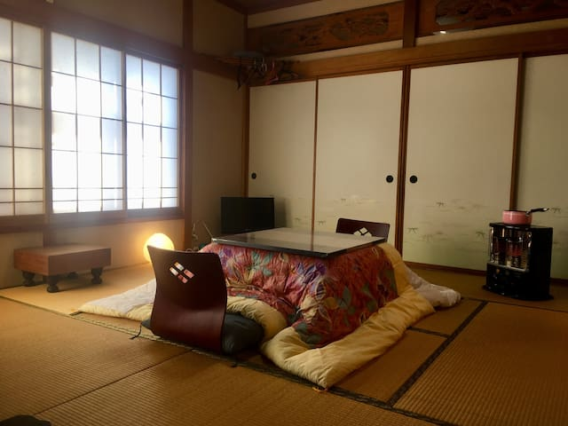 Japan traditional house Bycicle gearshift rental
