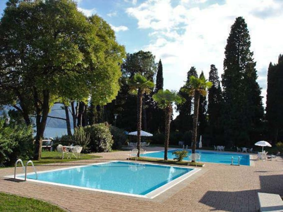 Le due piscine