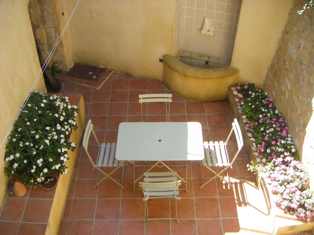 Sanilhac,Gard-Small village house