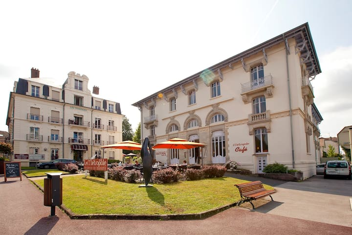 Grand appartement 3 personnes - Luxeuil-les-Bains - Apartment