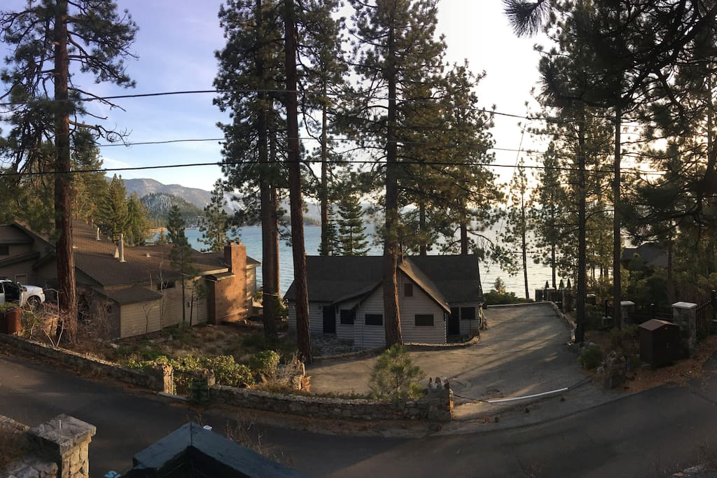Incredible charming lake tahoe cabin cabins for rent in for South lake tahoe cabins near casinos