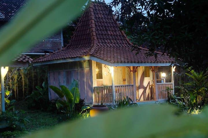 Mini Joglo house Kalimosodo in RIMBA DESA Jepara