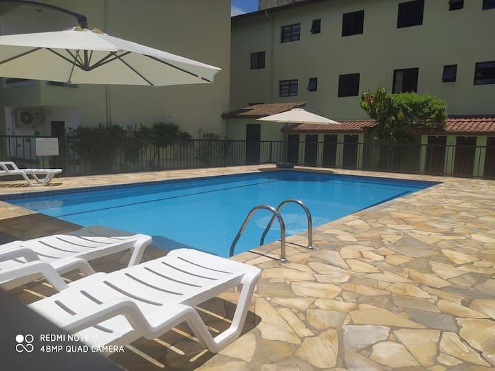 Top Apartamento Ubatuba Wi-Fi e Piscina