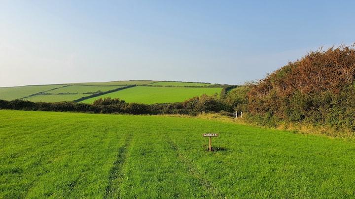 Farmland Camping Pitch - Martinhoe North Devon!