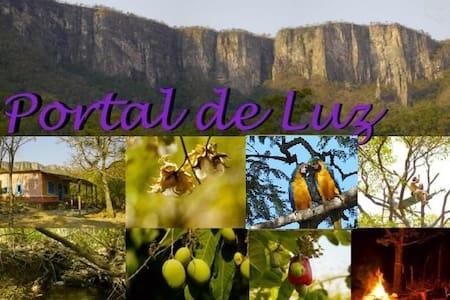 Camping para retiro individuais e grupos - Alto Paraíso de Goiás - Tienda de campaña