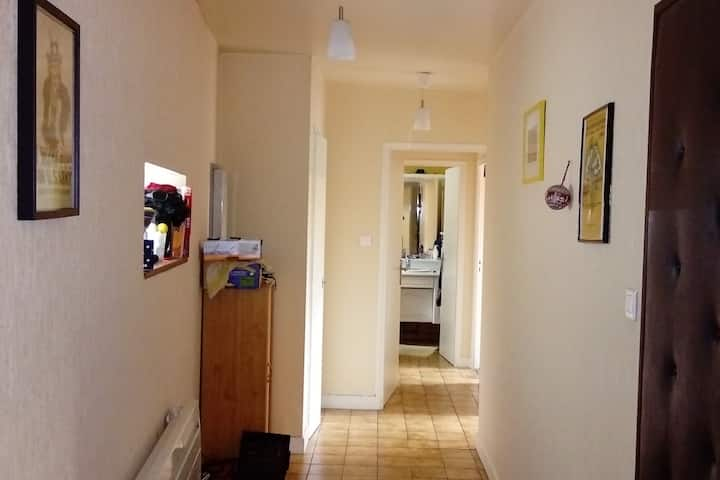 Appartement centre ville avec garage. 75m2