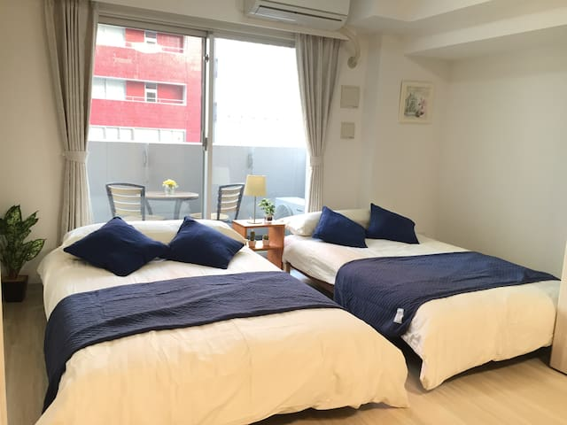 15mins Walk to Asakusa Brandnew Mansion for Couple - Taitō-ku - Huoneisto