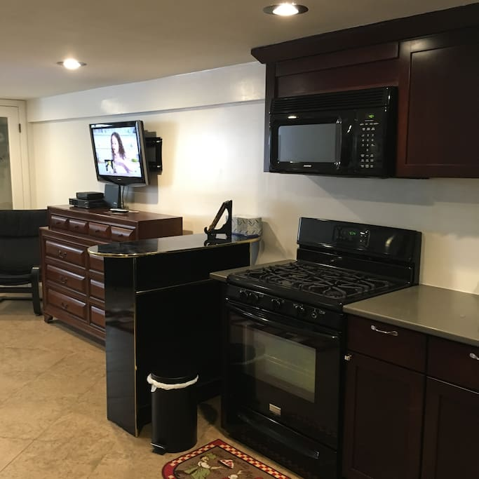 TV and internet available inside unit.
