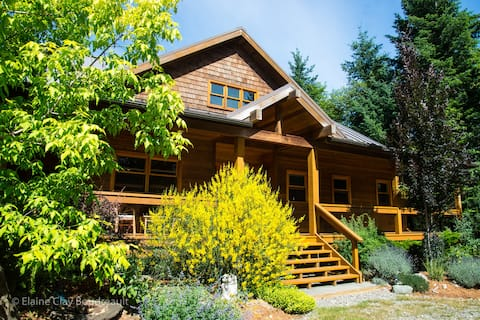 Hornby Island Mt. Geoffrey Bed & Breakfast Rm 1