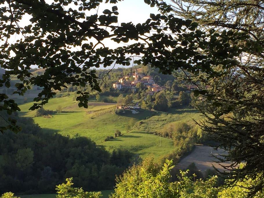 Vista  verso Moransengo