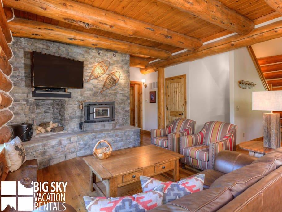 Big Sky Resort, Elk Creek Lodge, Living, 1