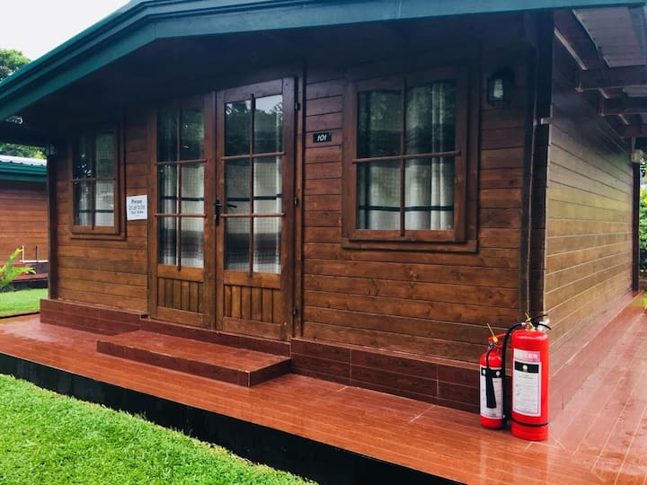 Deluxe River View Chalet (Double)AC