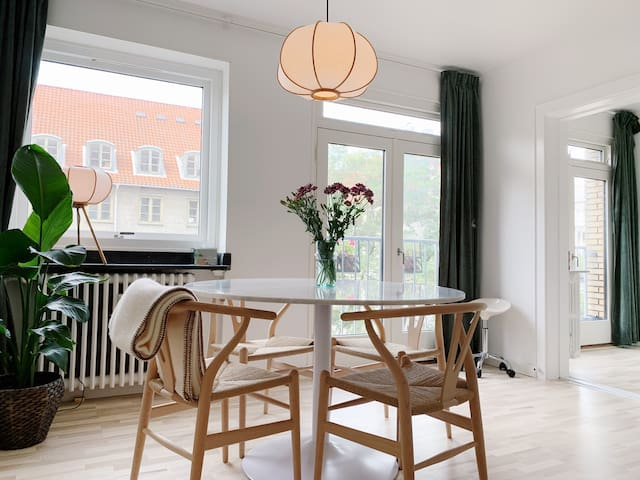 Newly renovated apartment in the center of CPH
