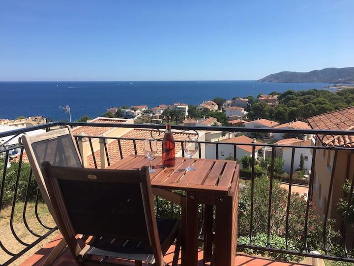 Acogedor apartamento con increibles vistas al mar