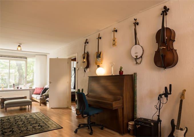 Musical mansion near city centre - Rotterdam - Lägenhet