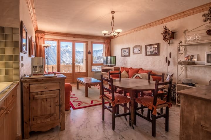 2 bedrooms in City Park area in Courchevel 1850