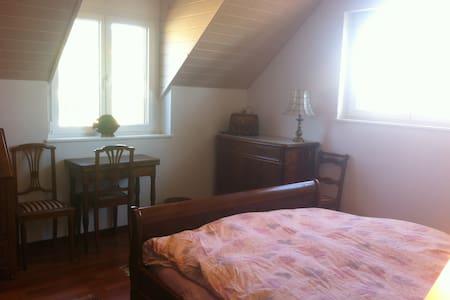 Grande chambre dans une villa neuve - Perroy - Σπίτι