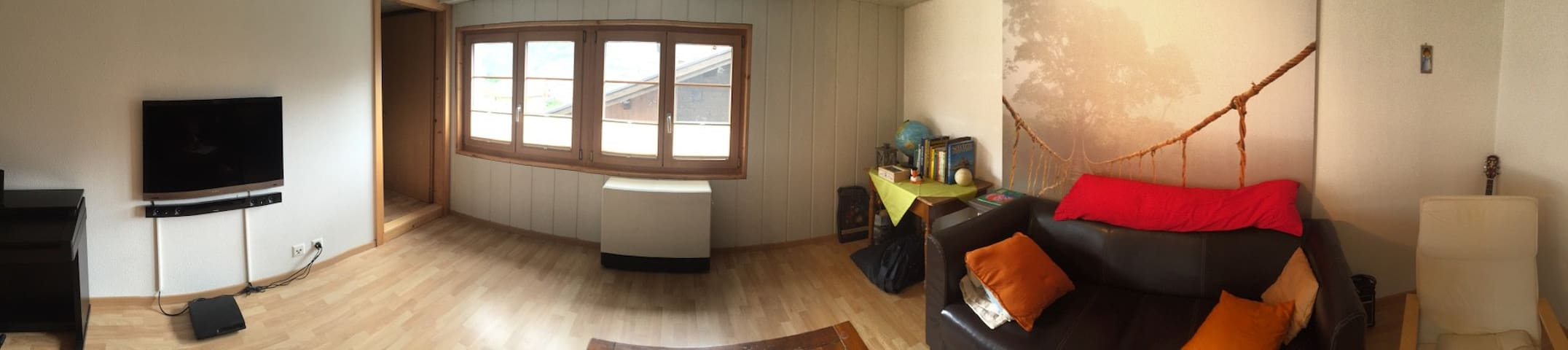 Cosy apartment in old village part - Steg-Hohtenn - Apartamento