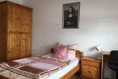 Einzelzimmer 2EG in unserer Wellnesspension