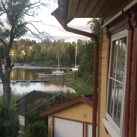 Nice apartment with sea view 20min. outside Oslo - Asker - Leilighet