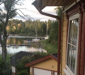 Nice apartment with sea view 20min. outside Oslo - Asker - Pis