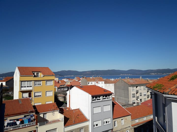Ático con vistas en Porto do Son