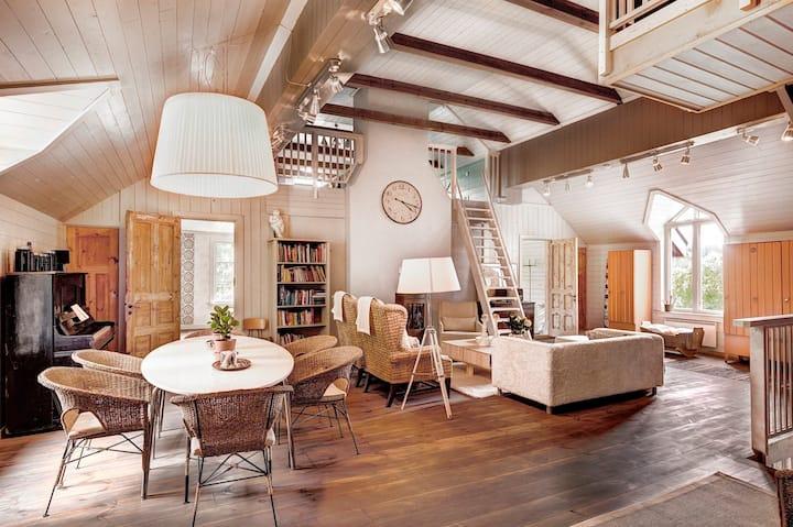 Ihana loft-asunto