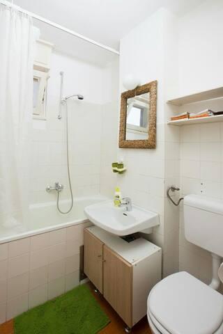 Bathroom...very clean and fresh!