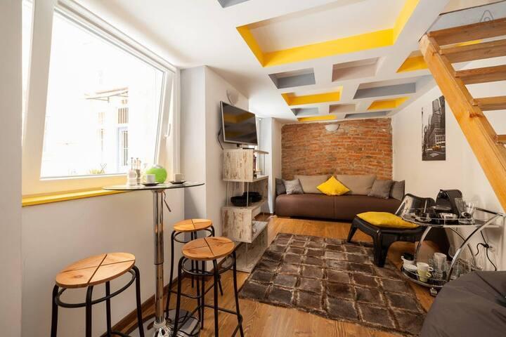 Mini Loft in the heart of Budapest - Budapest - Flat