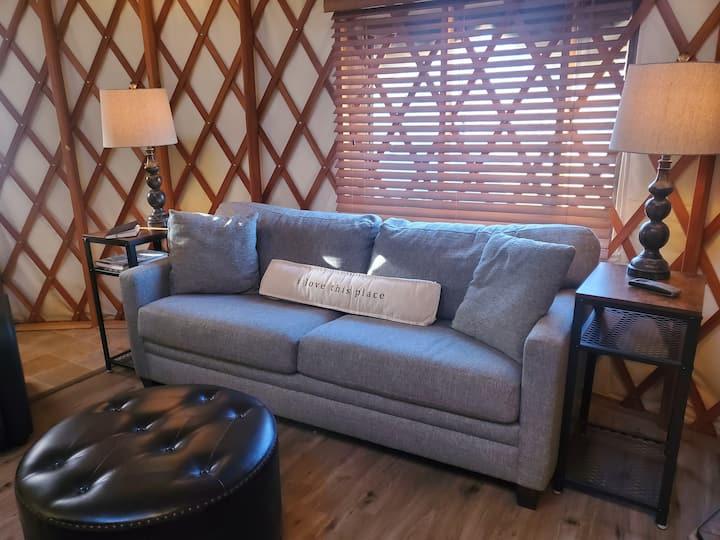 Luxury Deschutes River Yurt