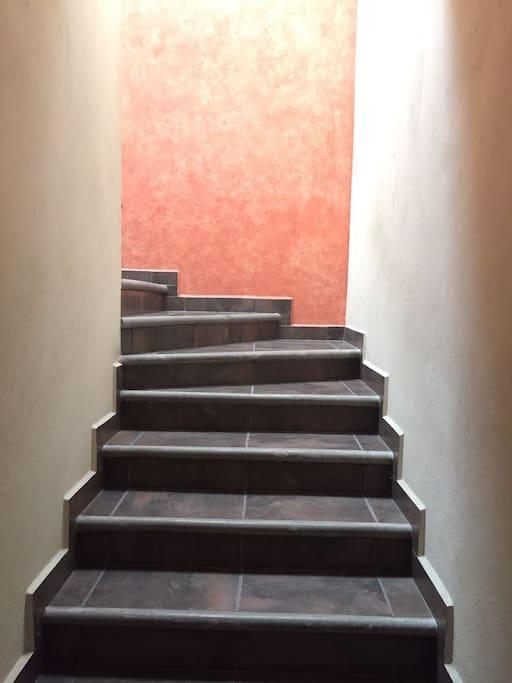 Escaleras a Segundo nivel/Stairs