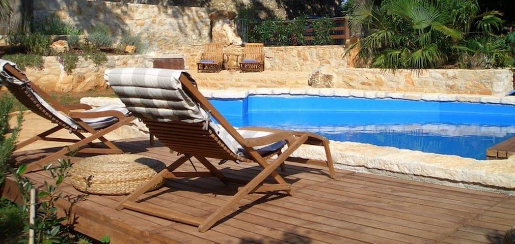 Ferienhaus mit Pool Porec Decovici für 4 Personen - Nova Vas - House