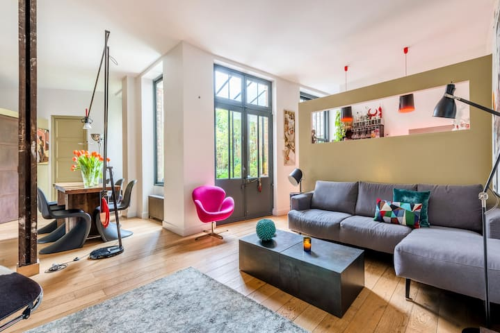 Unique ground floor garden flat