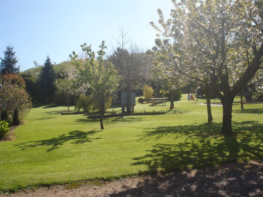 Jardin spacieux