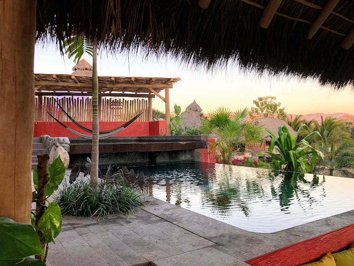 Breezy quiet view  - Casa Sirena at El Oasis