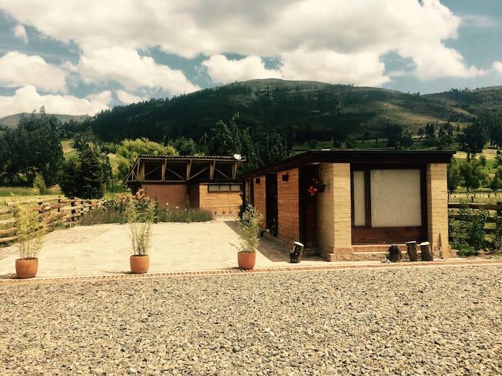 Cabaña El Portal de Iza. Boyacá.
