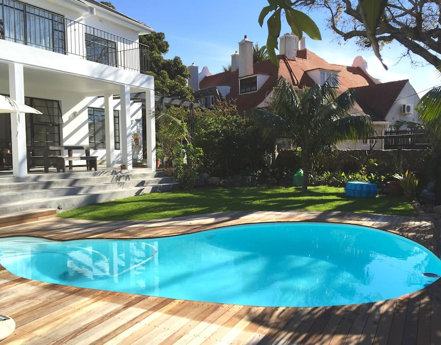 Pool and Garden setting