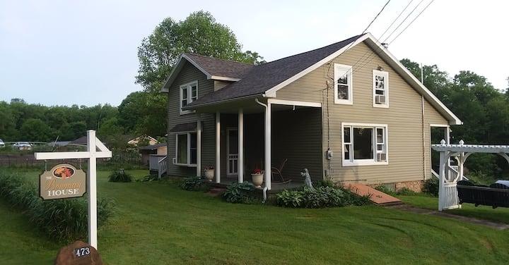 The Bowman House at Big Oak Ridge