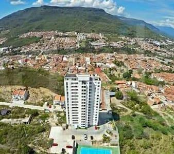 Apartaestudio  parte alta San Gil - San Gil - Apartament