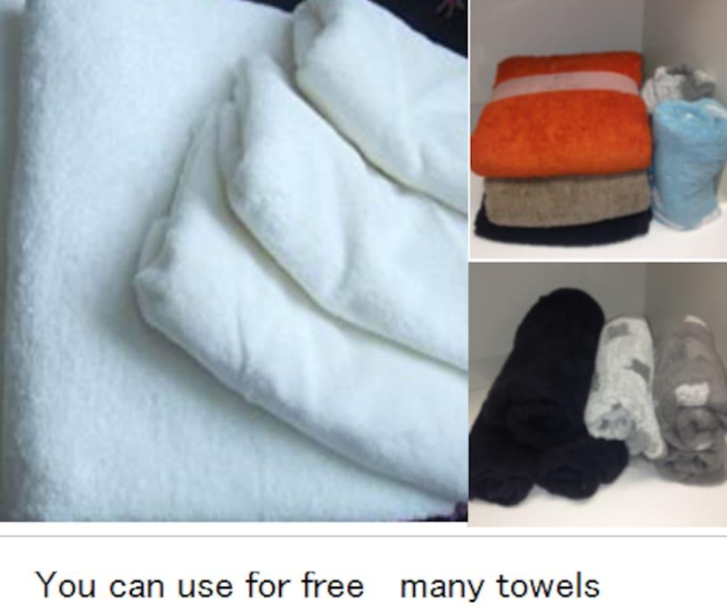 free use towels