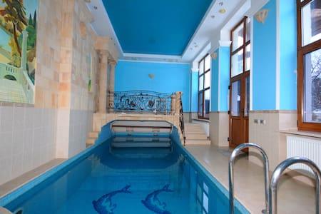 Дом в Александровке на НОВЫЙ ГОД - Aleksandrovka