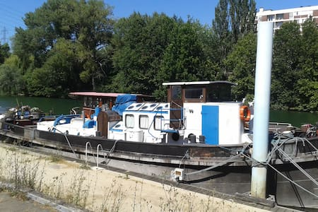 Nice, quiet and confortable boat - Villeneuve-la-Garenne