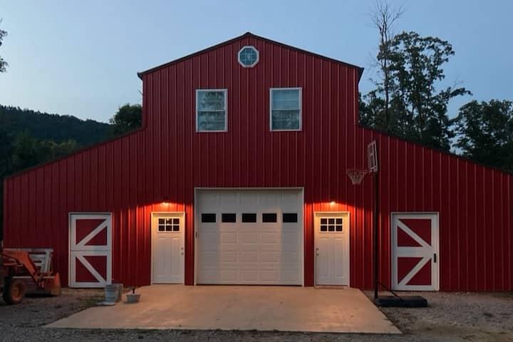 The Barn Loft at Kelly Hollow Farm.